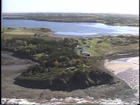 Aerial Survey, Part 5  Around  Pictou  Island and the mainland shore from  Gull  Point,  Caribou  Is