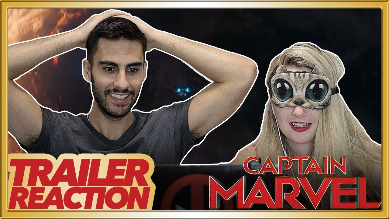 Captain Marvel Official Trailer Reaction Sensory Deprivation