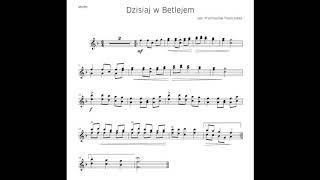 Kolęda - ♩110 Dzisiaj w Betlejem - piano, akompaniament fortepianu