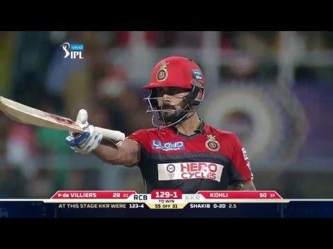 KKR vs RCB: Virat, AB guide RCB to easy win