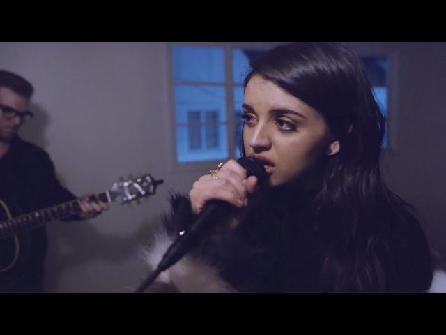 All Time Low by Jon Bellion - Rebecca Black and Max Ehrich LIVE Cover