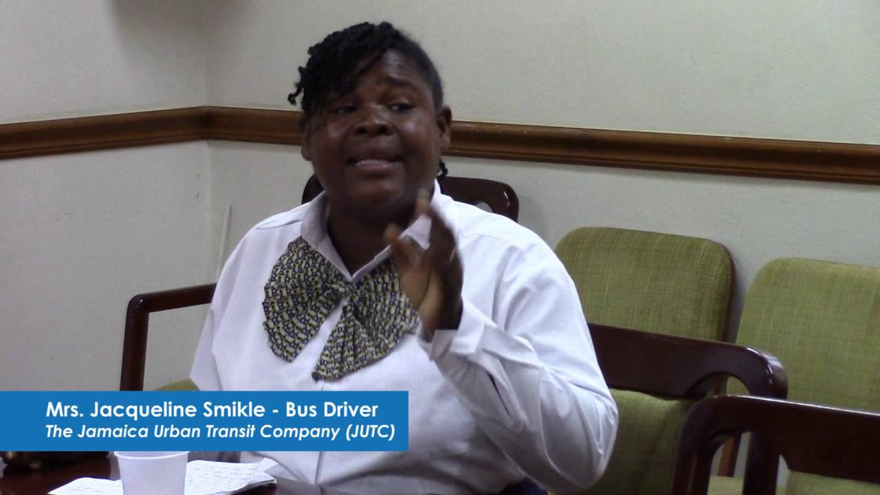Undp Jamaica:bus Driver Smikle: I Am A Woman Who Progressed From Driving A  3 Wheel Cart To A Big Bus