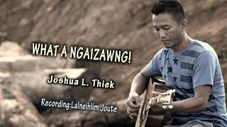What a Ngaizawng! - Joshua L. Ṭhiek (Lyric Video)  |Hmar funny song |Hla lenglawng |Hmar hla thar