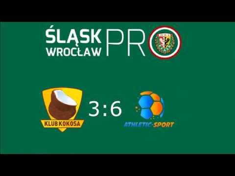 Athletic-Sport -  Mands Klub Kokosa 6:3,Sezon Zima 2017/18, Śląsk Wrocław PRO, 14.01.2018