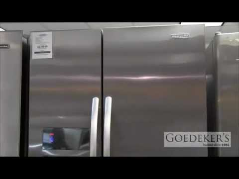 Kitchenaid Kühlschrank Side By Side : Goedeker s kitchenaid counter depth side by side refrigerator