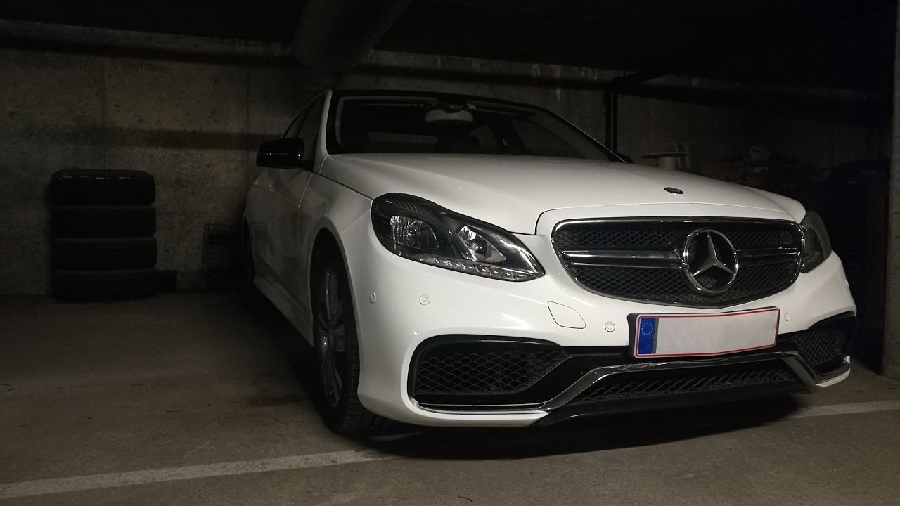Mercedes w212 Facelift conversion to AMG e63 part 1