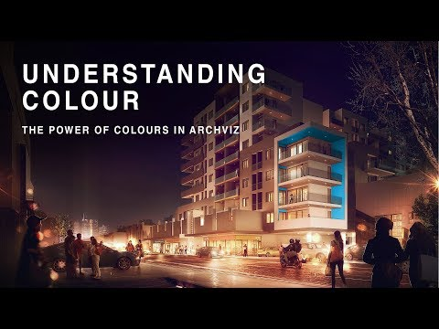 UNDERSTANDING COLOURS - The power of colours in archviz
