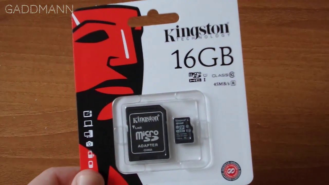 Kingston Microsd 16gb Class 10 UHS-I [Unboxing & Speed Test]