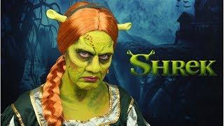 Princess Fiona Special Effects Makeup Tutorial   Shrek Makeup Tutorial   FX Makeup Tutorial
