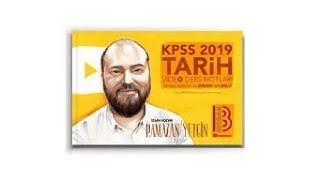 Benim Hocam Yayınları - 2019 KPSS Tarih Video Ders Notları - Ramazan Yetkin