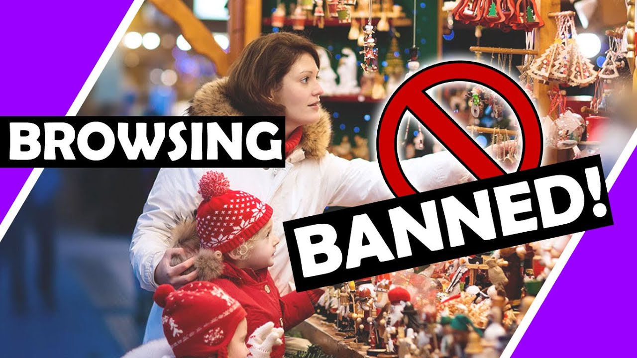 Now BROWSING Is ? Banned Christmas ?  Lockdown Shopping ? From Sage / Hugo Talks