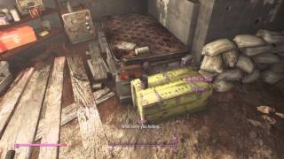 Fallout 4 - secret cellar with gold bricks