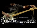 How to Tune Your Bass | Fender