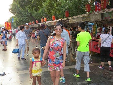[China Vlog] Beijing Trip (Starbucks, Tiananmen, Wangfujing, Beijing Subway) 북경여행 블로그