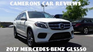 2017 Mercedes GLS Class (GLS550) 4.7 L Twin Turbo V8 Review | Camerons Car Reviews