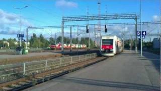 Sm4 arriving to Riihimäki, Finland - Tåg / Train / Juna