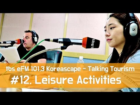 [Talking Tourism] Leisure Activities & Water Sports 여름 여행에서