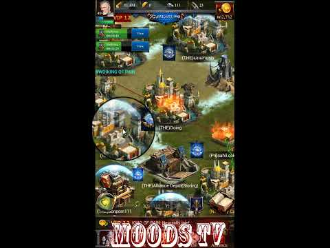 Clash Of Kings Castles 10.000.000.000 Power Rally And Destroy Alliance And Take The Fort Off