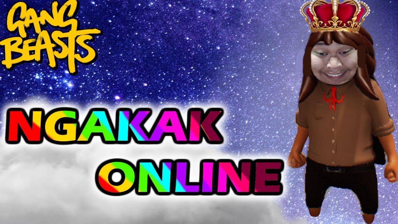 Ngakak Online! - Gang Beasts Indonesia - YouTube