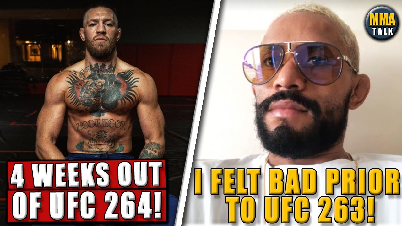 Conor McGregor LOOKING SHREDDED 4 weeks out of UFC 264,Figueiredo BREAKS SILENCE on his UFC 263 loss