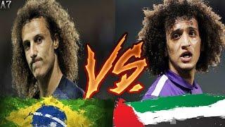 مباراة خاصة بين دافيد لويز وعمر عبد الرحمان