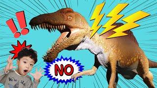쥬라기월드 스피노사우루스가 움직여! 공룡박물관 테마파크  Jurassic World Spinosaurus moves!