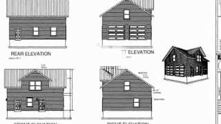 Plan #g213 Custom Dormer Garage Plan