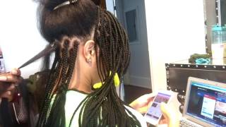 #1 Best Way to do Box Braids tutorial very detailed.