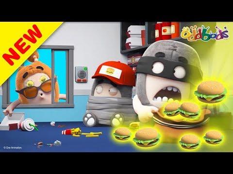 Oddbods | Ăn bánh Mỹ! | Phim hoạt hình vui nhộn cho trẻ em