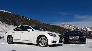 2014 Jaguar XJL vs Lexus LS460 Ike Gauntlet All-Wheel-Drive Matchup Review (Part 1)