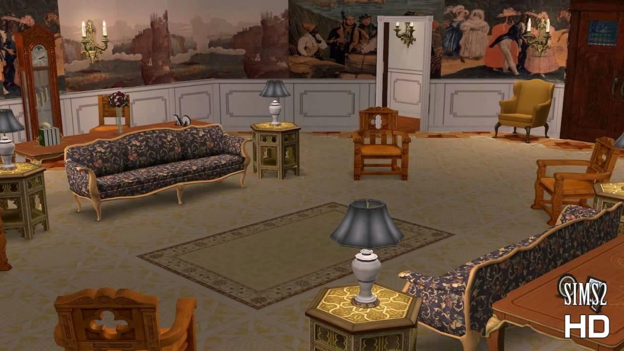 Sims 2 White House Tour  Part 1  The Ground Floormp4  YouTube