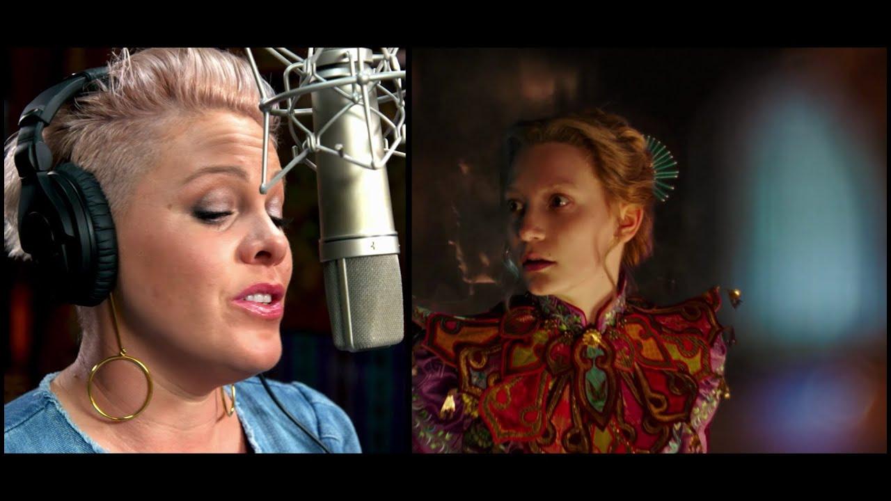 Alice attraverso lo specchio p nk canta white rabbit - Cast alice attraverso lo specchio ...