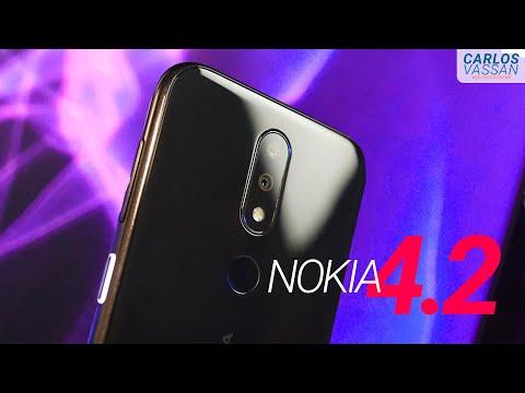 Este teléfono tiene DOS características únicas!  |  Nokia 4.2