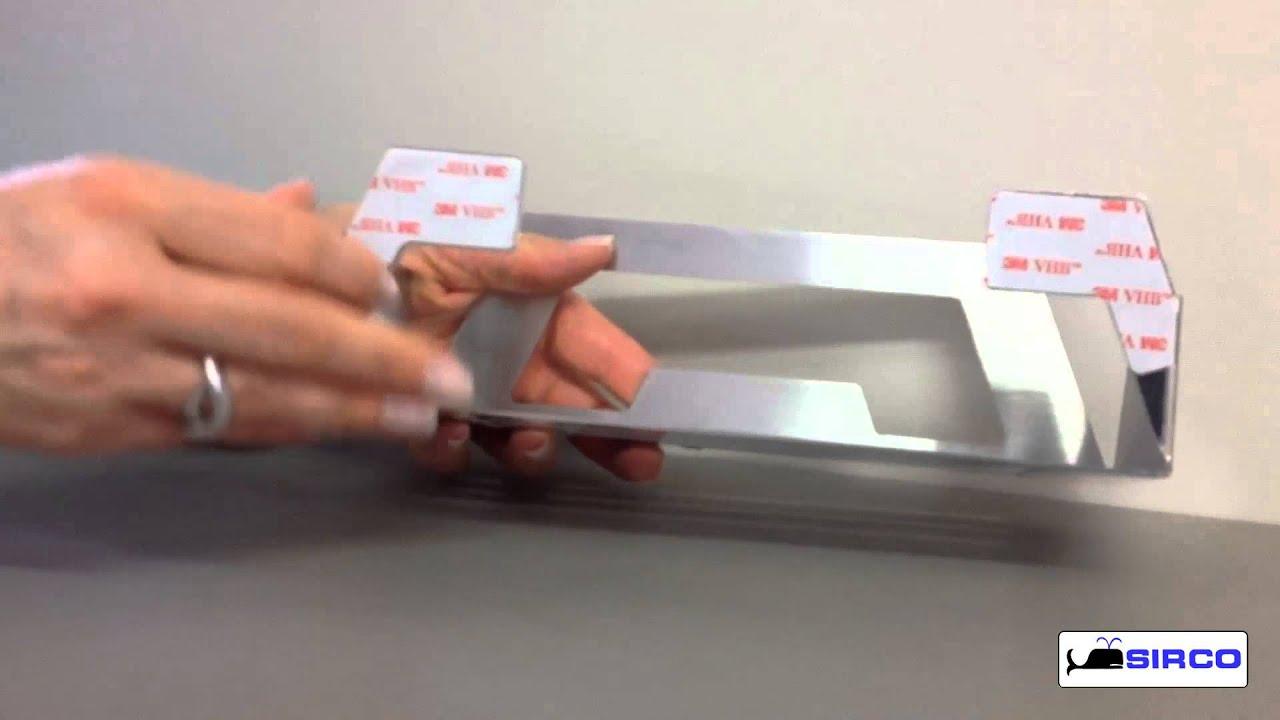 cestino contenitore adesivo da incollo a parete per doccia vasca lavabo lavello cucina