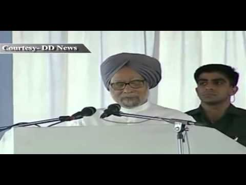 PM Manmohan Singh's address dedicating to the Nation, the Sipat Super Thermal Power Station
