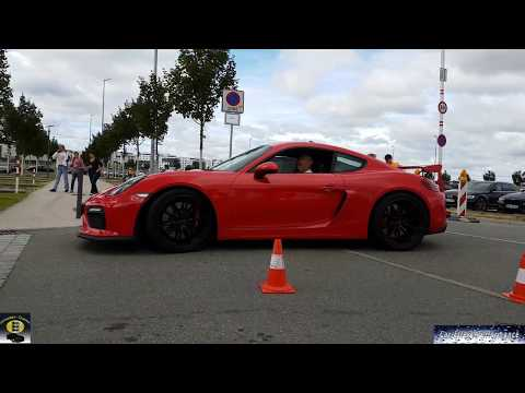 Lots of Porsche meets Motorworld Stuttgart/Böblingen 10.PFF Porsche-Treffen, Crazy Sound, Exhaust