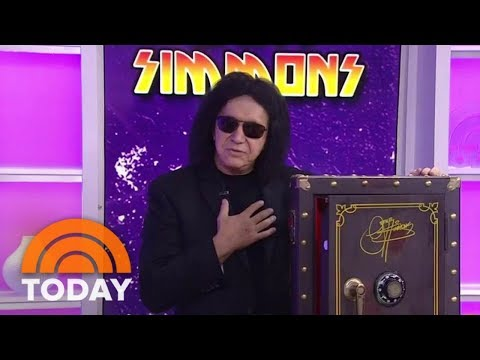 Gene Simmons Of KISS Talks About New Box Set Of Unreleased Songs | TODAY