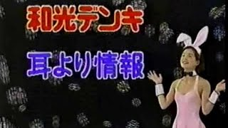 1995年CM 和光電気 日本広告機構