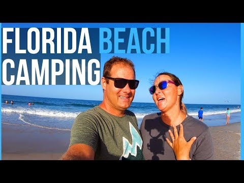RV LIFE: BEACH RV CAMPING IN FLAGLER & DAYTONA BEACH FLORIDA