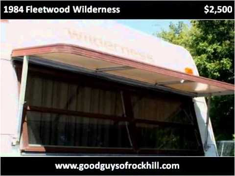 1984 fleetwood wilderness used cars rock hill sc youtube. Black Bedroom Furniture Sets. Home Design Ideas