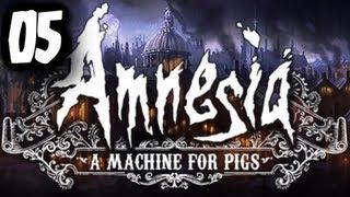 """GŁĘBIEJ I MOCNIEJ! - """"Amnesia: Machine for Pigs"""" #05 - Zagrajmy z Esem!"""