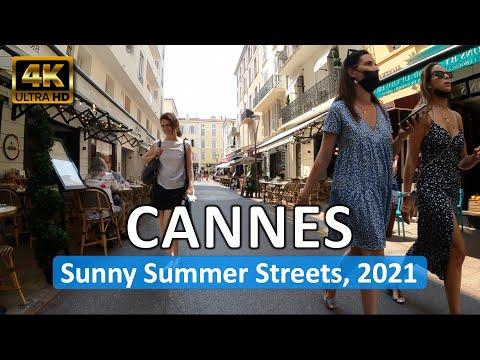 Cannes, France • On A Summer Day • Côte d'Azur • June 15, 2021 • Virtual Tour 4K HDR