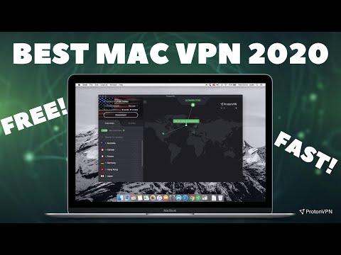 The BEST VPN For Mac (2020) (FREE) // ProtonVPN