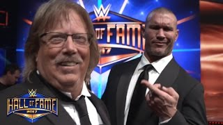 Miz's Dad replaces Tom Phillips on the red carpet: WWE Hall of Fame Exclusive, March 31, 2017