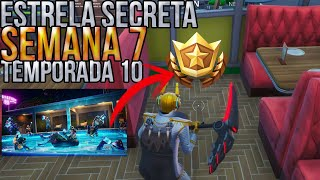 FORTNITE SEASON 10 SECRET WEEK 7 STAR