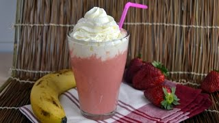 Strawberry-banana Yogurt Smoothie - How To Make A Strawberry Banana Smoothie