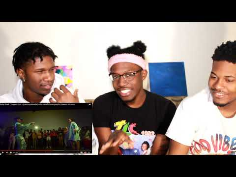 Aliya Janell Choreography  Baby Shark *Trapped Out*  REACTION