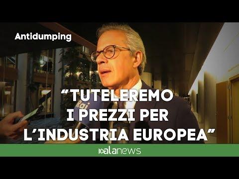 """Antidumping, Cicu: """"Regole uguali per tutti"""""""