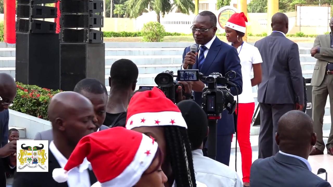 Goûter de Noël du Président Patrice Talon en Compagnie des enfants du Bénin