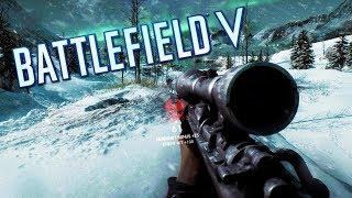 BATTLEFIELD V - Meu Gameplay de Sniper e as Maiores Mudanças no Jogo